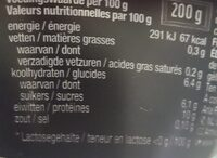 Protein 20g strawberry - Nutrition facts - en