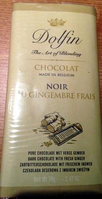 Chocolat Noir au Gingembre - Product - fr