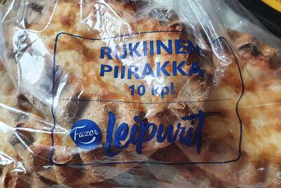 Rukiinen Piirakka - Produit - fi