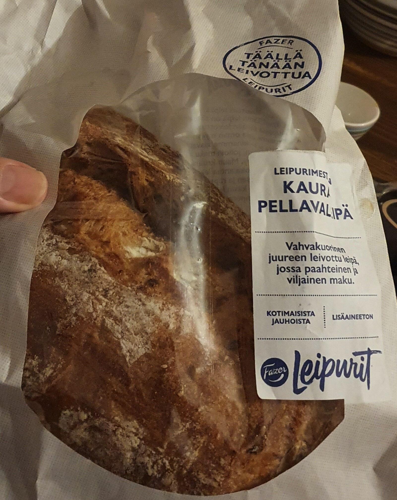 Leipurimestarin Kaura-pellavaleipä - Produit - fi