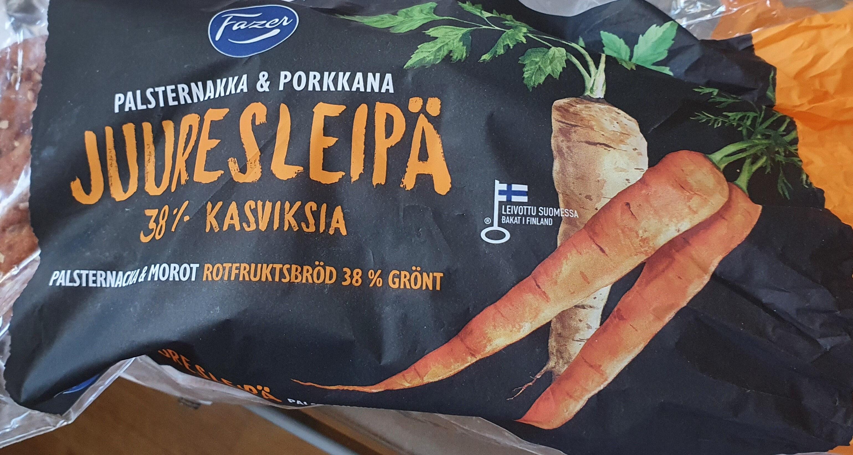 Juuresleipä Palsternakka & Porkkana - Produit - fi