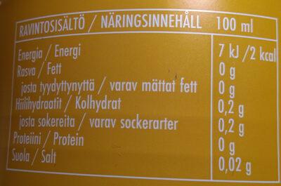 Sokeriton Jaffa - Voedingswaarden