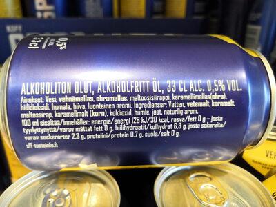 Koff Crisp alkoholiton vehnäolut - Nutrition facts