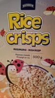Rice Crisps - Tuote - fi