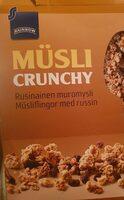 Müsli crunchy - Tuote - et