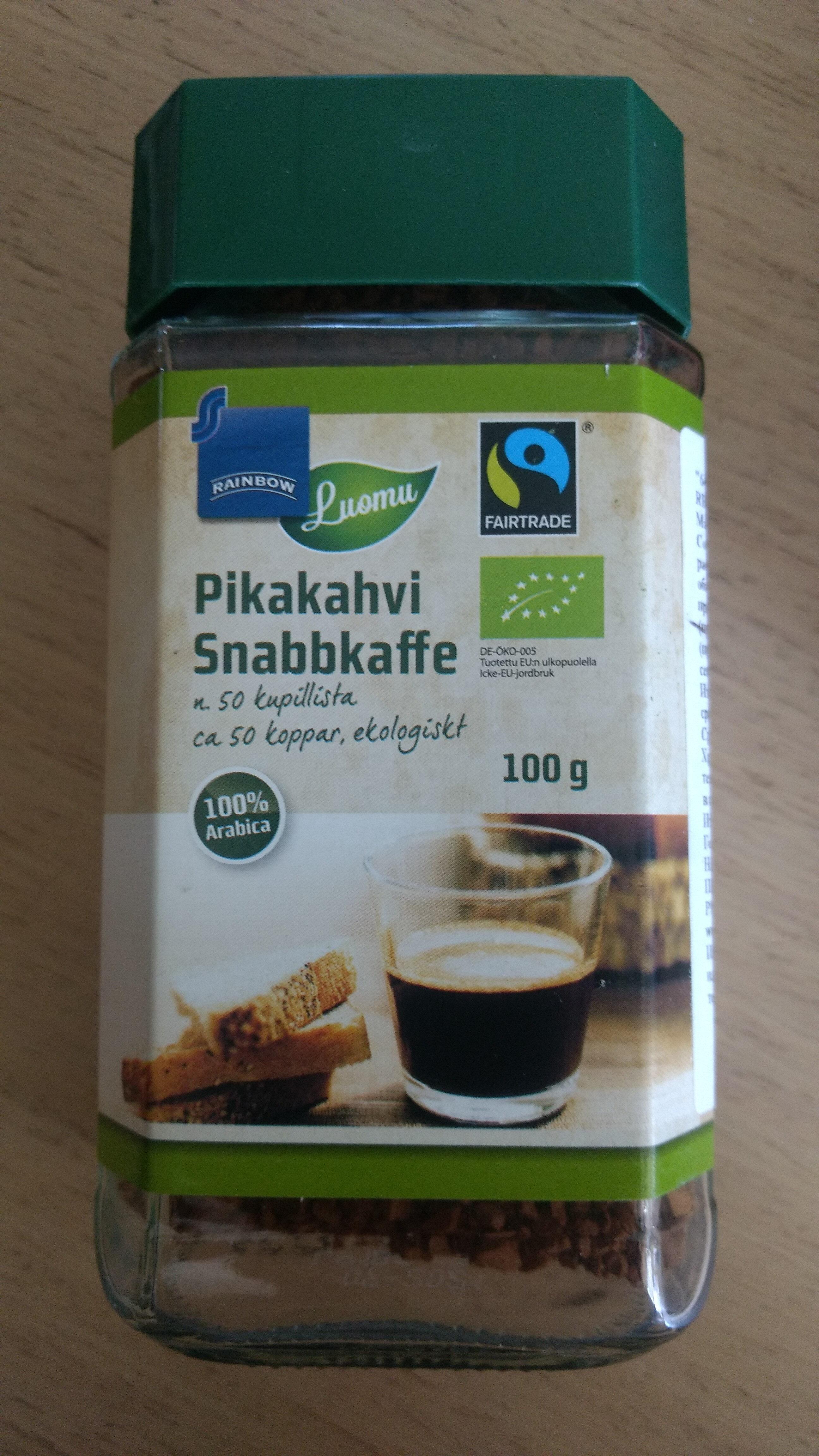 Pikakahvi Snabbkaffe - Продукт - fi