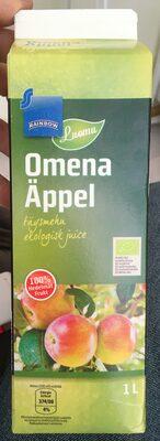 Omena Äppel täysmehu ekologisk juice - Продукт - ru