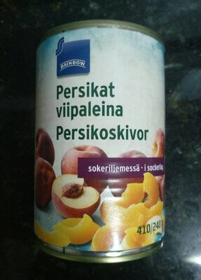 Persikat viipaleina sokeriliemessä - Product - fi