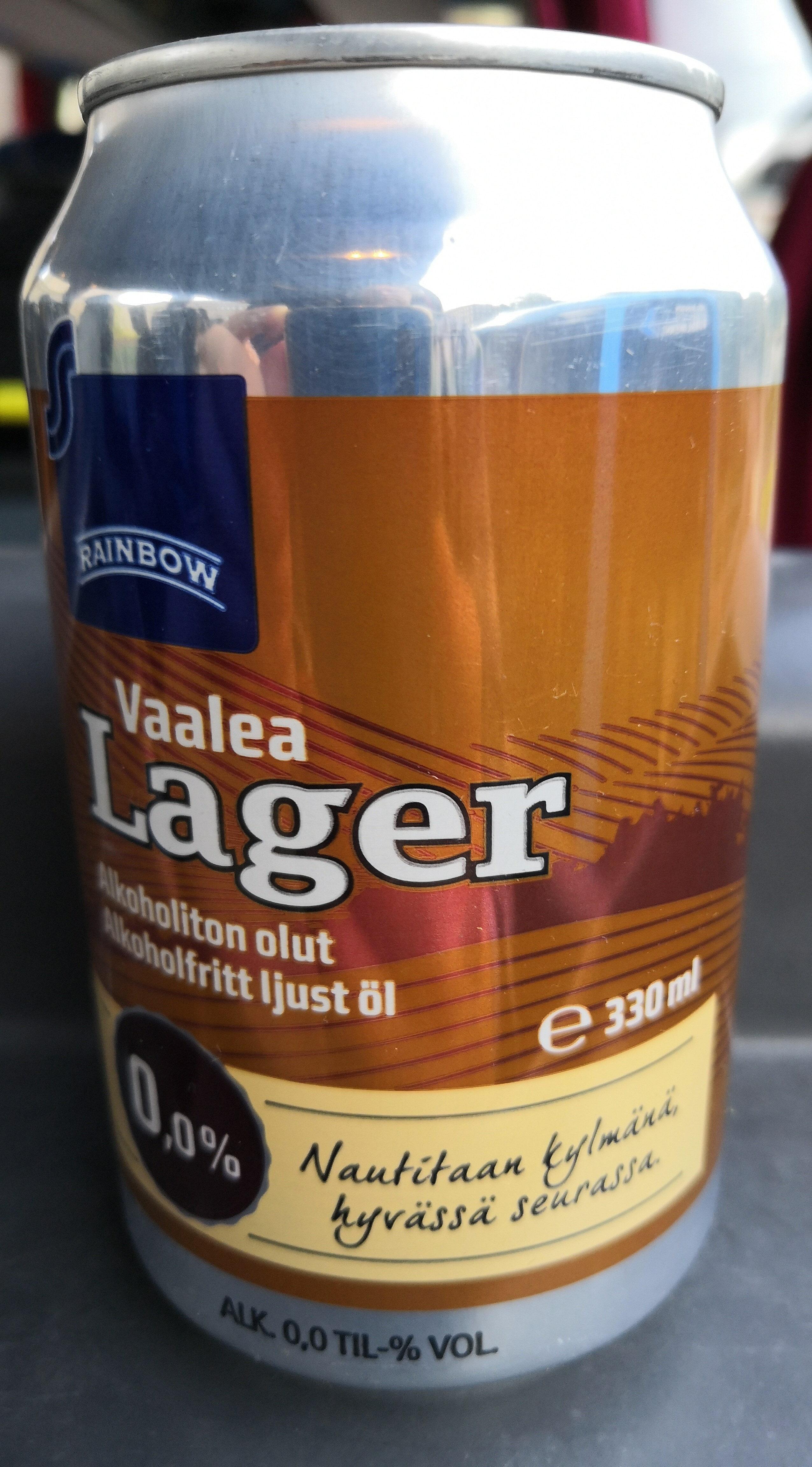 Vaalea lager alkoholiton olut - Product