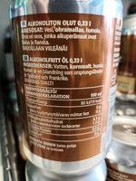 Vaalea lager alkoholiton olut - Nutrition facts