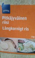 Pitkäjyväinen riisi - Продукт