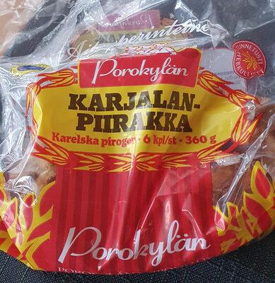 Karjalanpiirakka (Porokylän) - Produit - fi