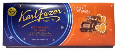 Karl Fazer Winter Edition Piparkakku Maitosuklaa - Tuote - fi
