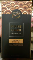 Pure Dark 70% Cocoa Coffee & Cardamon - Produkt - fi