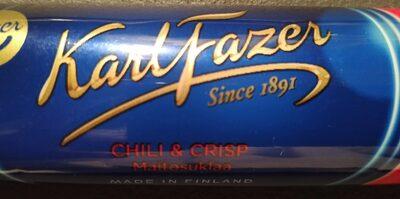 Karl Fazer Chili & Crisp - Product