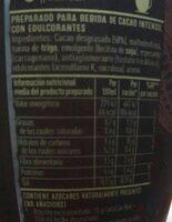 Cola cao noir - Información nutricional - es