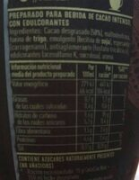 Cola cao noir - Voedingswaarden - es