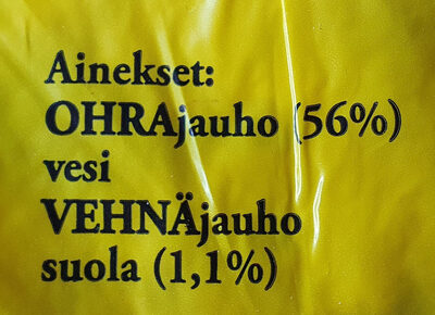 Ohrarieska - Ingrédients - fi
