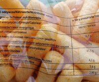 pufuleti paprika - Nutrition facts - fr