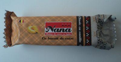 Nana Baton de casa cu lapte si bucati de caise - Produit