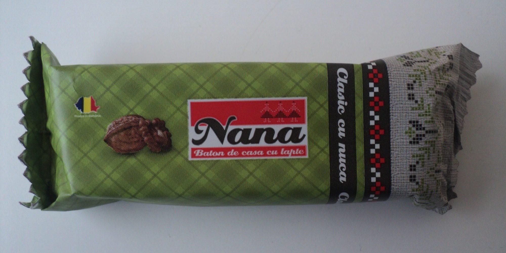 Nana Baton de casa cu lapte si bucati de nuca - Produit
