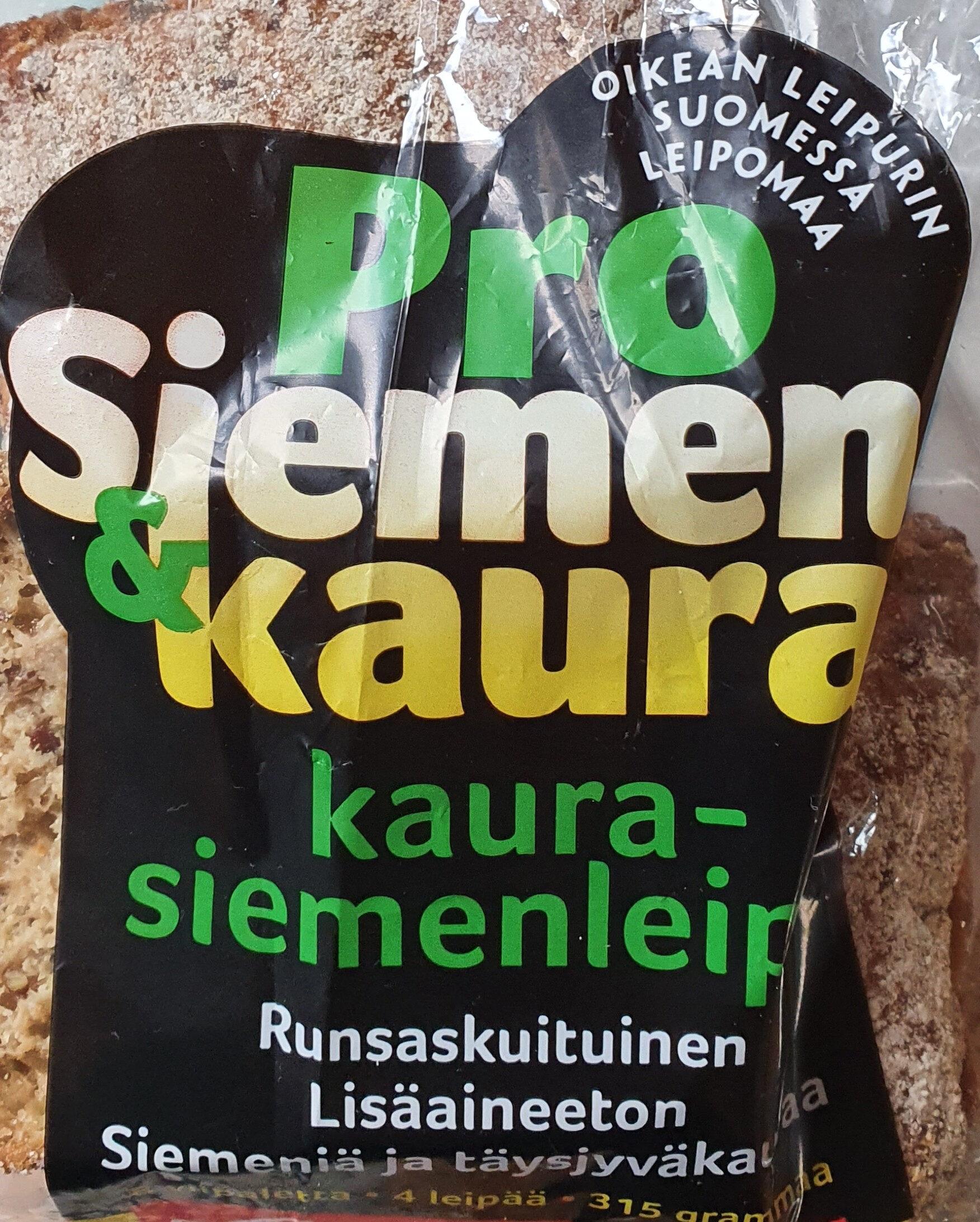 Kaurasiemenleipä - Produit - fi
