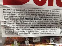 Boltsi Kaura-siemenpyörykkä chili-tomaatti - Ingredients