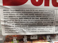 Boltsi Kaura-siemenpyörykkä chili-tomaatti - Nutrition facts
