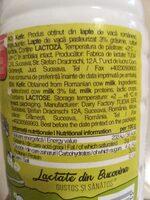 Kefir - Ingredients - es