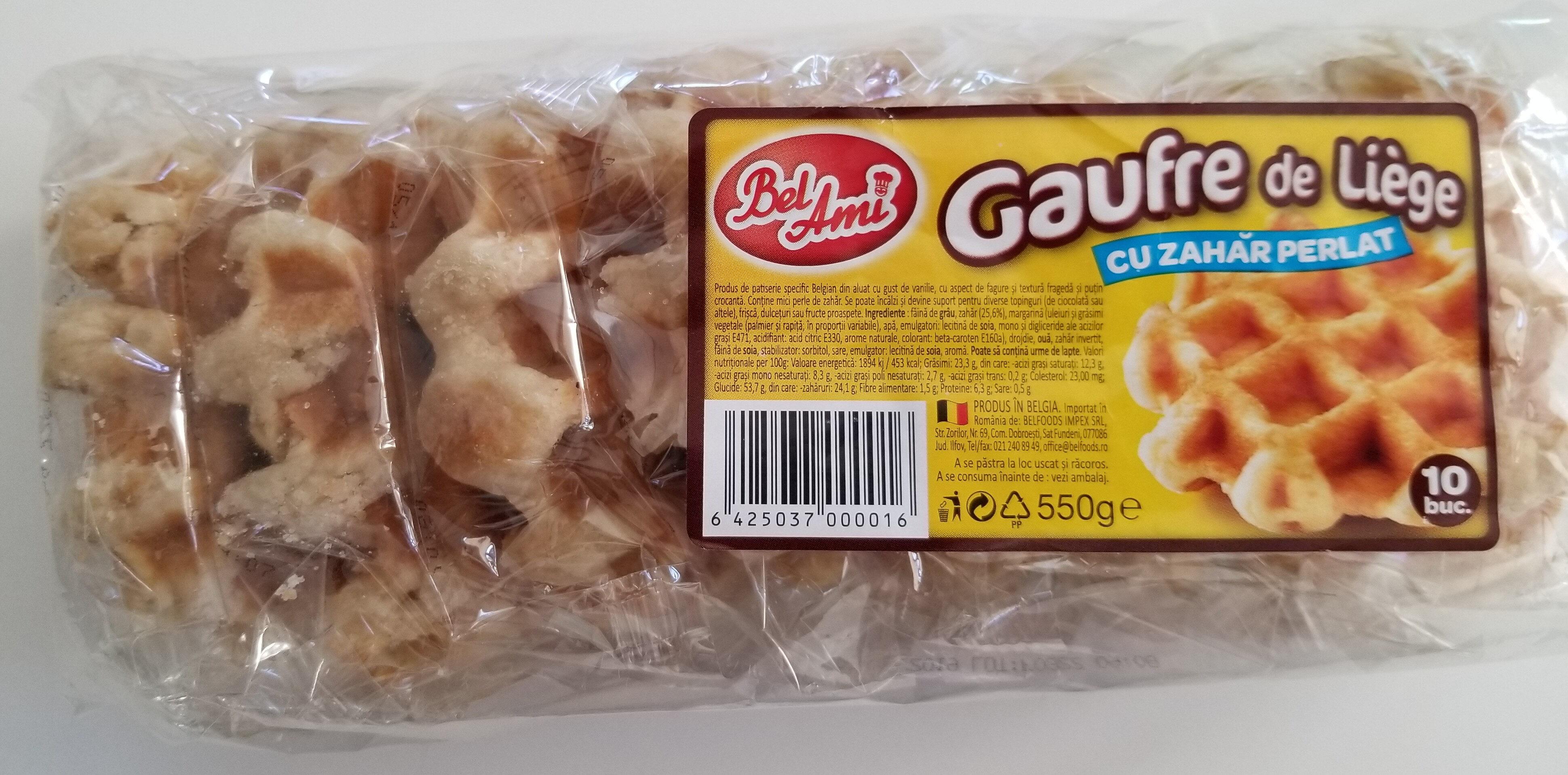 Gaufre de Liège cu zahăr perlat - Product