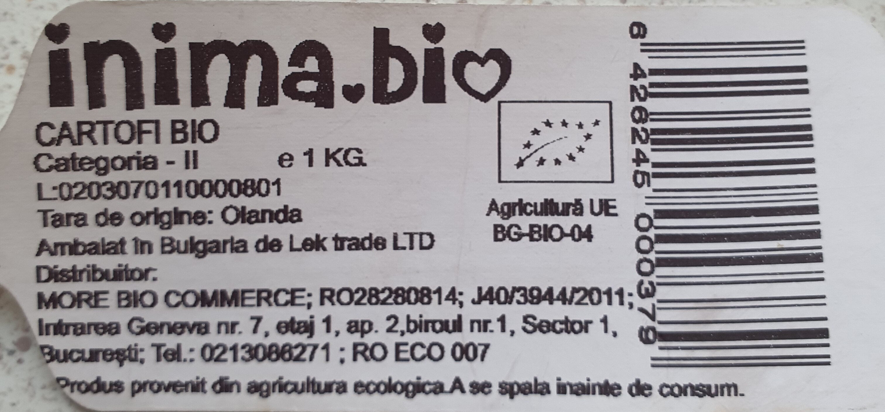 Cartofi Bio - Product - en