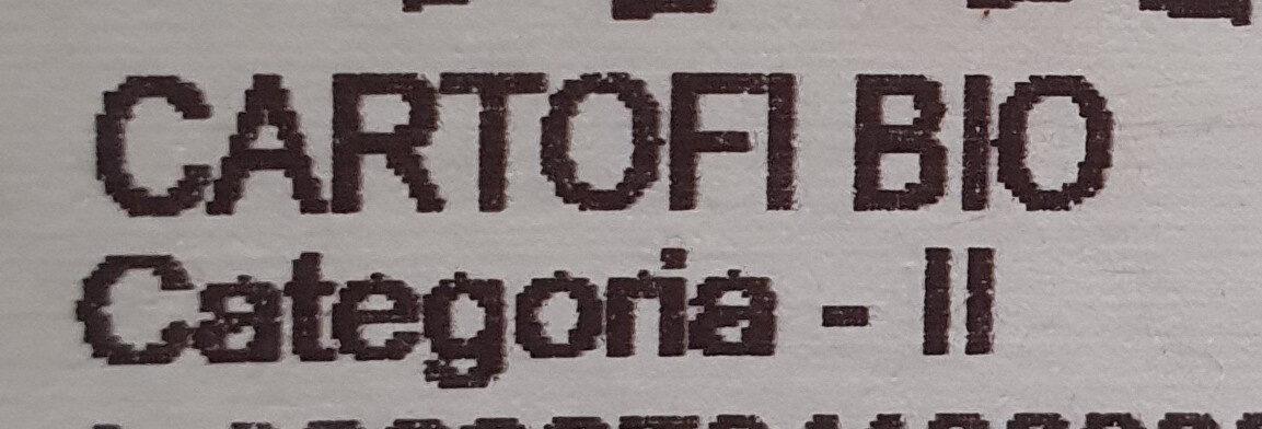 Cartofi Bio - Ingredients - en