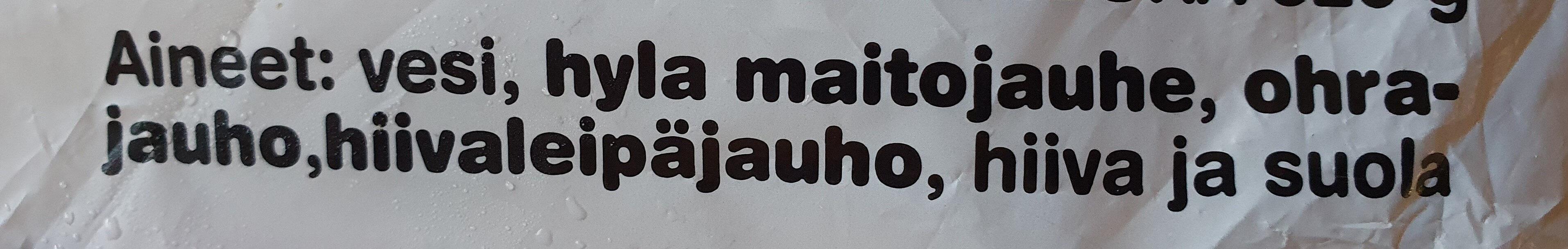 Maito-Rieska - Ingrédients - fi