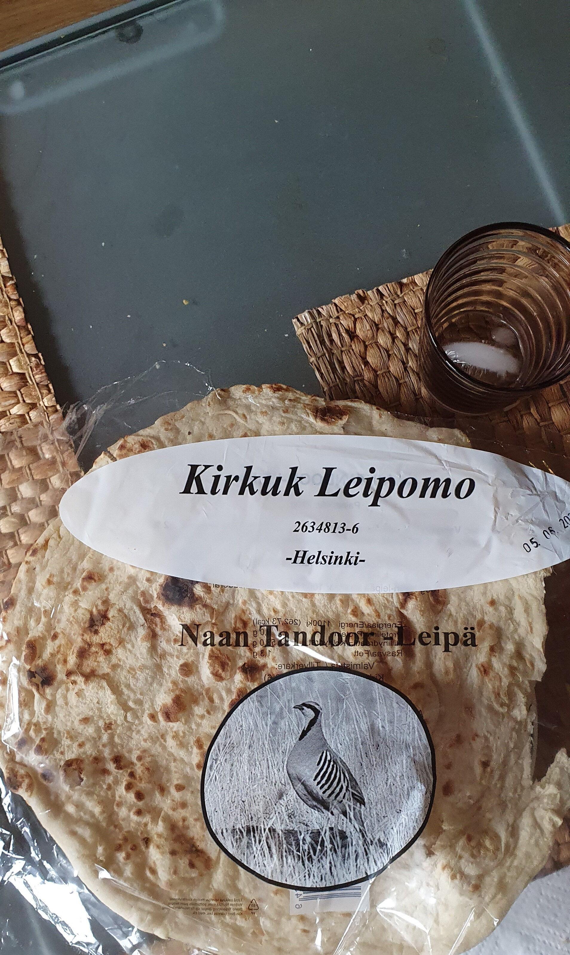 Naan Tandoor - Leipä - Produit - fi