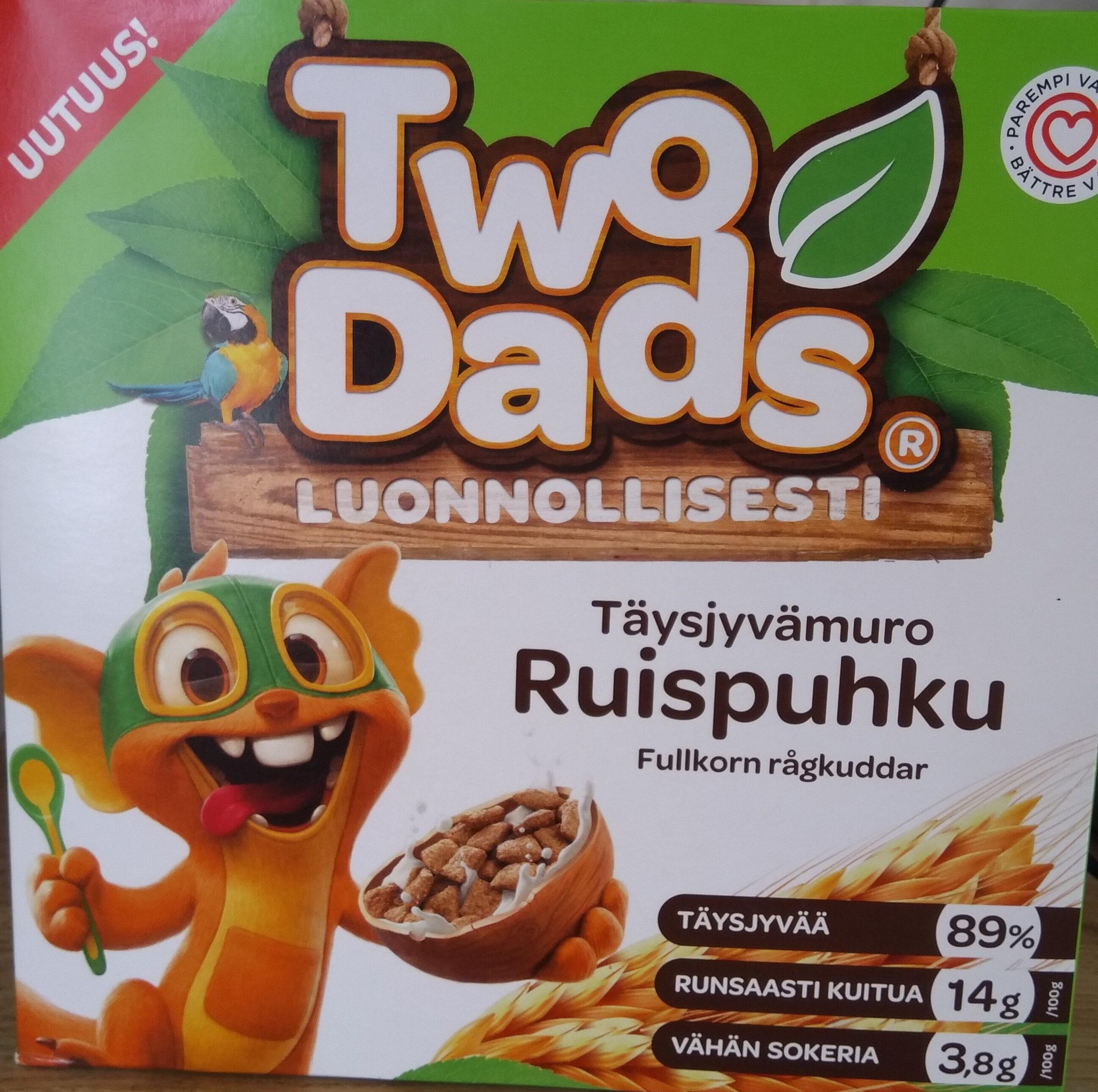 Täysjyvämuro Ruispuhku - Produit - fi