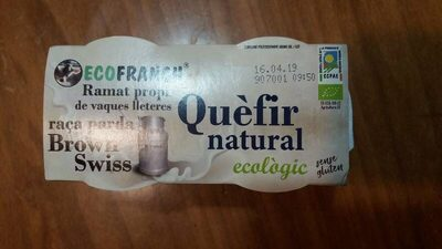 Quefir natural - Producto