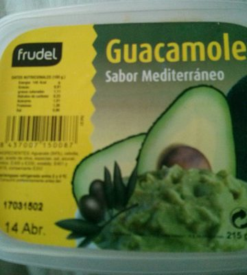 Guacamole sabor Mediterráneo - Producto - es