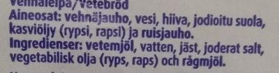 Ranskanleipä - Ingrédients - fi