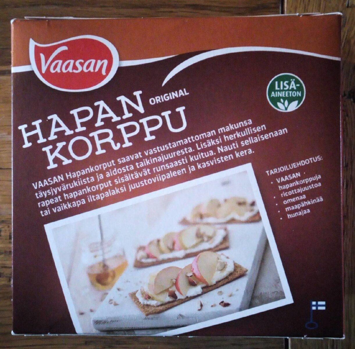 Hapankorppu original - Produit - fi