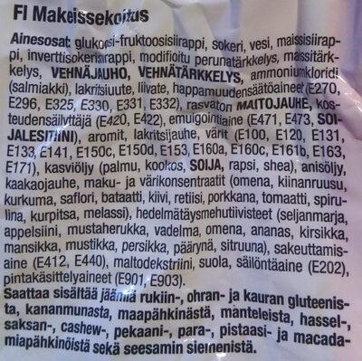 Irtokarkkisekoitus - Ingrediënten - fi