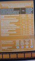 Pop-corn Caramel Tofee - Valori nutrizionali - fr