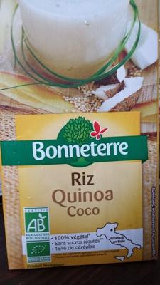 riz quinoa coco - Product