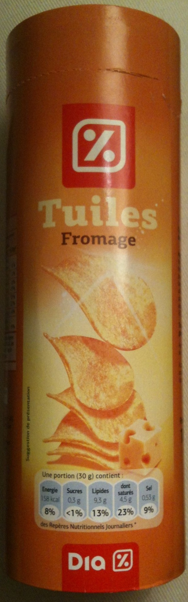Tuiles Fromage - Produit