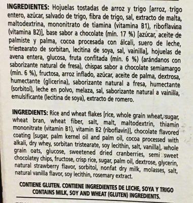 Special K Chocolate y Fresa - Ingredients - es