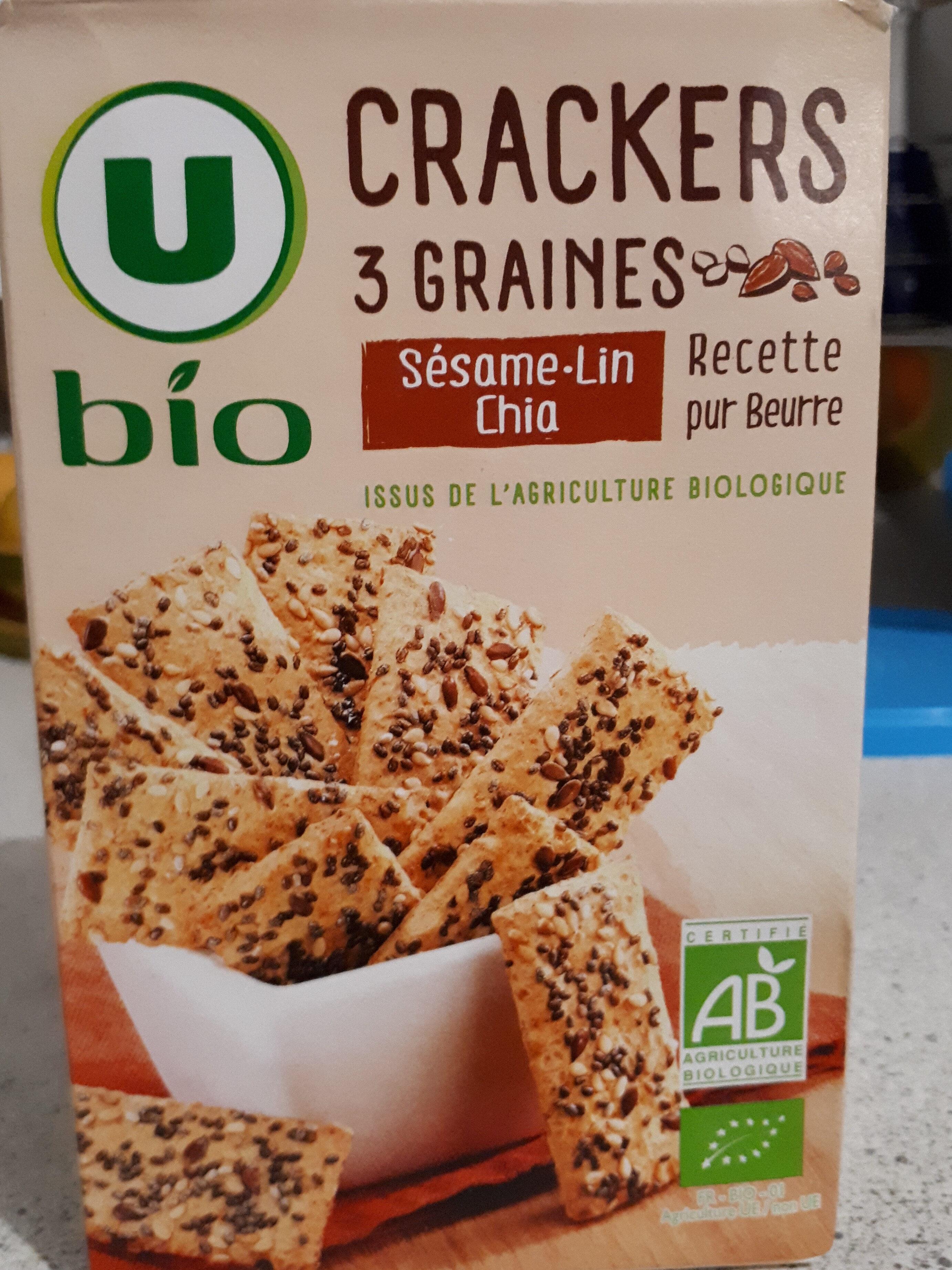 Crackers 3 graines - Produit - fr