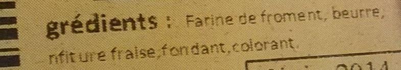 Napolitain - Ingrédients - fr