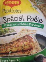Papillotes Spécial Poêle Poulet aux Herbes de Provence - Product