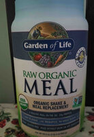 garden of life raw organic meal - Product - en