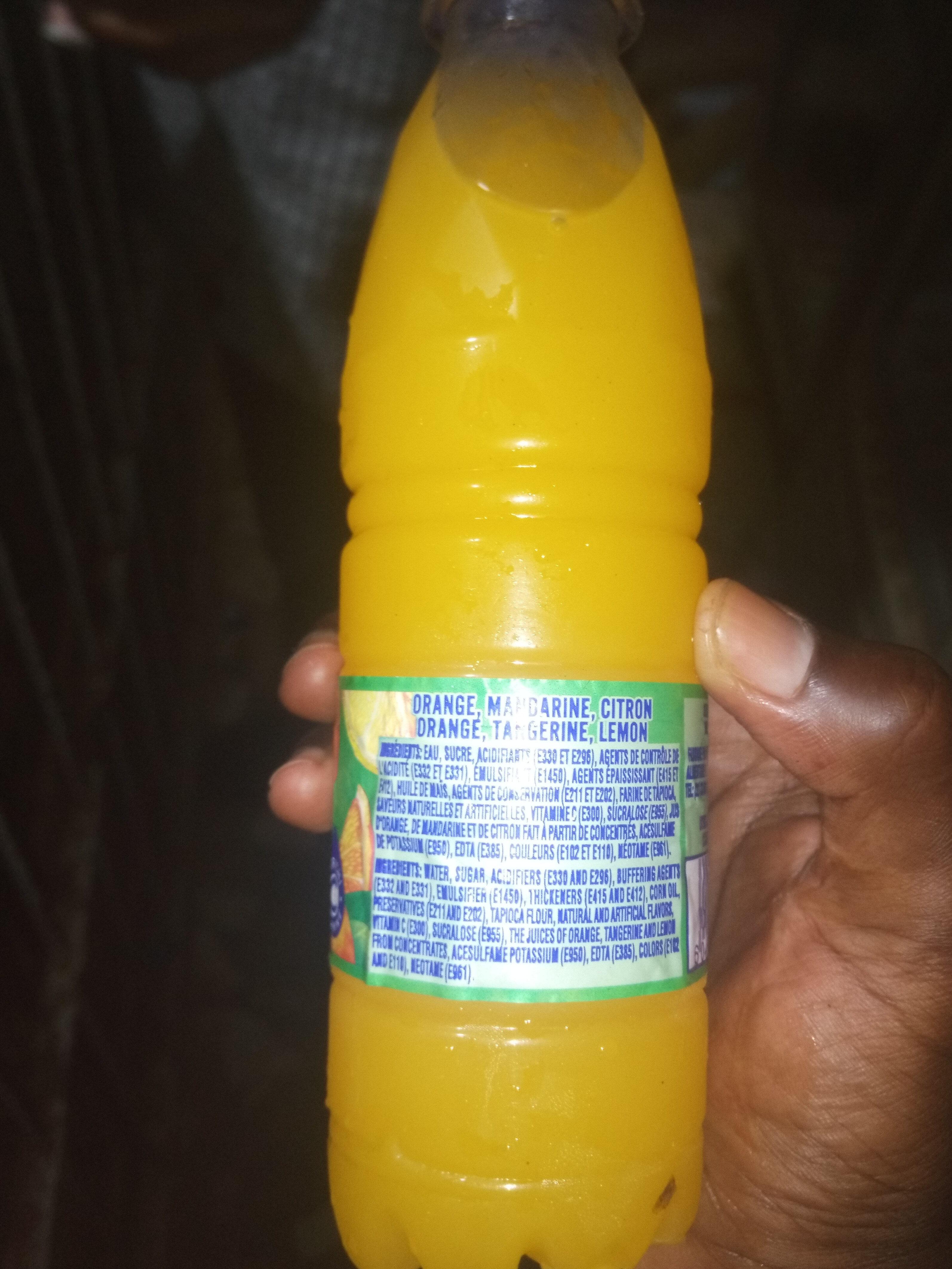 Tampico citrus punch - Ingrédients - fr