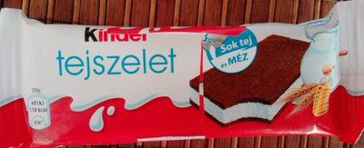 Kinder tejszelet - Produit